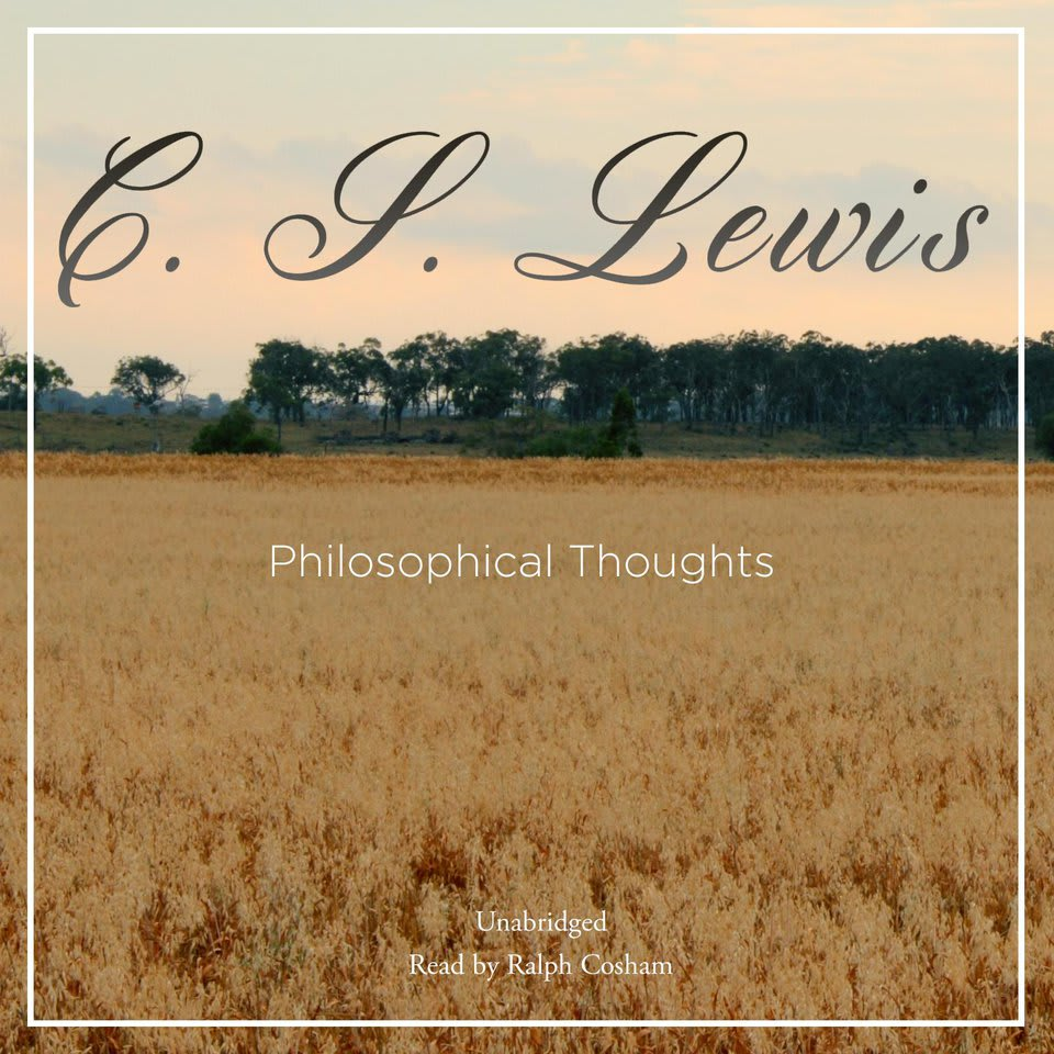 Book cover for Philosophical Thoughts by C. S. Lewis