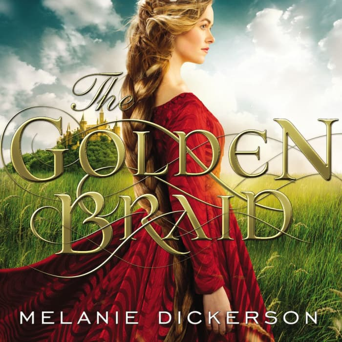 Book cover for The Golden Braid by Melanie Dickerson with limited-time offer banner