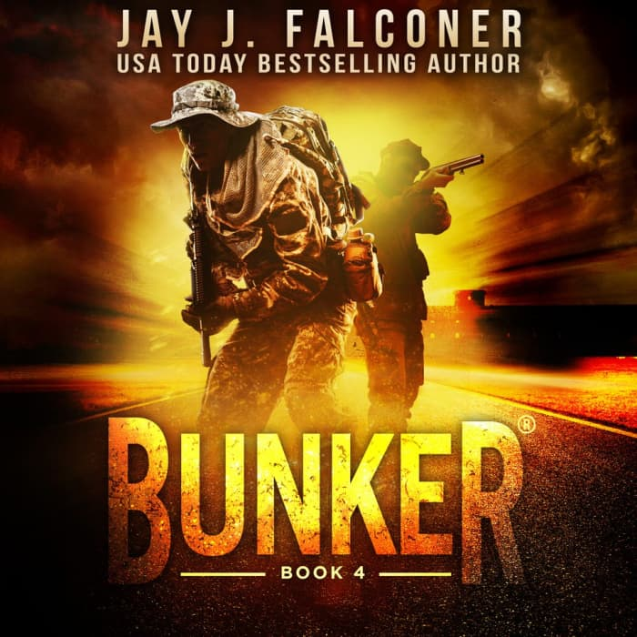 Book cover for Bunker (Book 4) by Jay J. Falconer