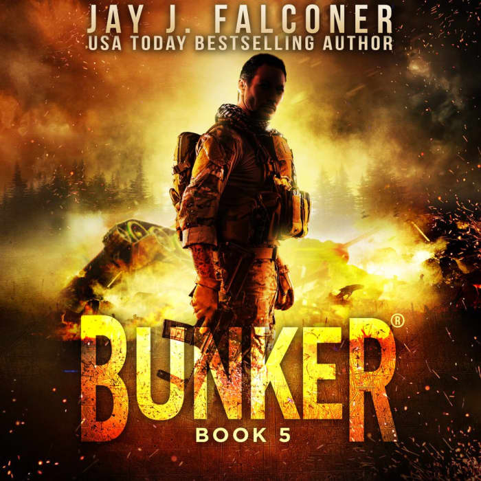 Book cover for Bunker (Book 5) by Jay J. Falconer