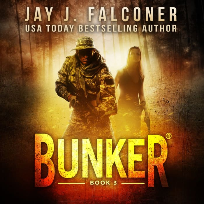 Book cover for Bunker (Book 3) by Jay J. Falconer