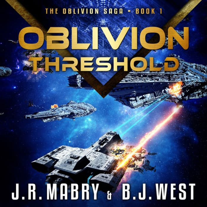Book cover for Oblivion Threshold by J.R. Mabry & B.J. West
