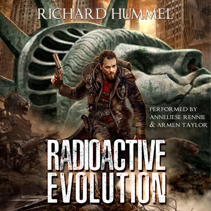 Book cover for Radioactive Evolution by Richard Hummel