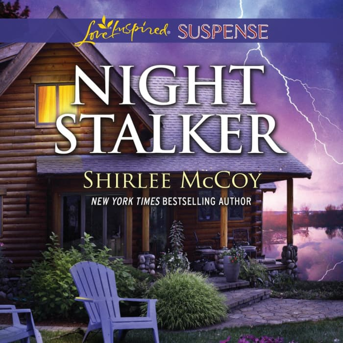 Book cover for Night Stalker by Shirlee McCoy