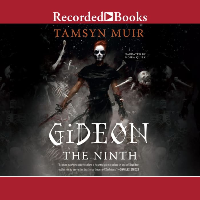 Book cover for Gideon the Ninth by Tamsyn Muir