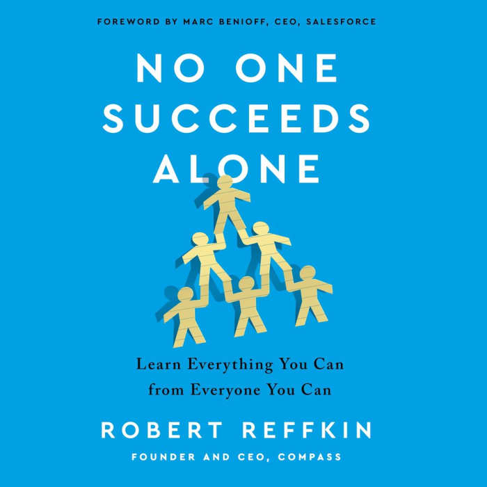 Book cover for No One Succeeds Alone by Robert Reffkin - book review