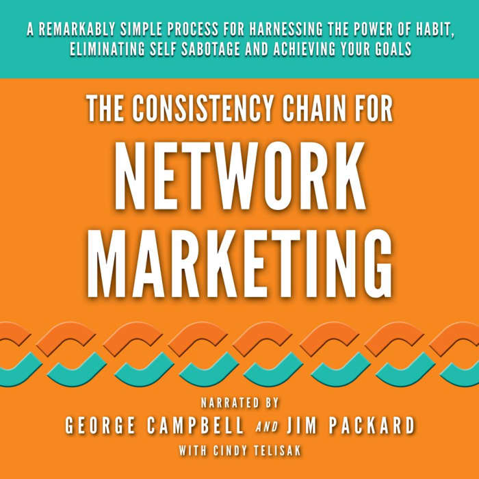 The Consistency Chain for Network Marketing